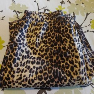 Vintage Studio Leopard Print Pants